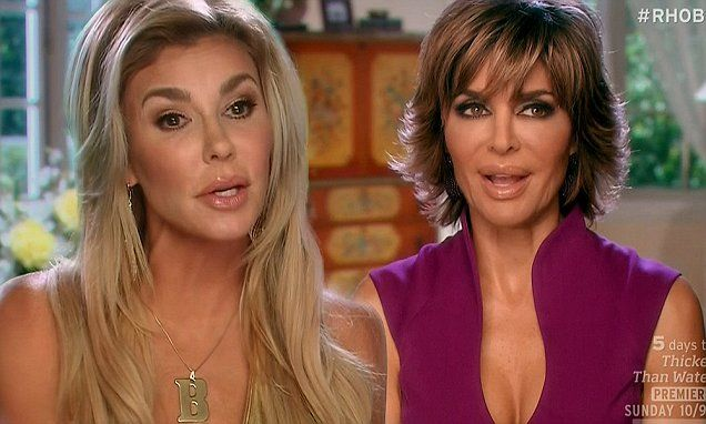 Brandi Glanville accuses Lisa Rinna of wearing wig on RHOBH ... 2f965bdca723