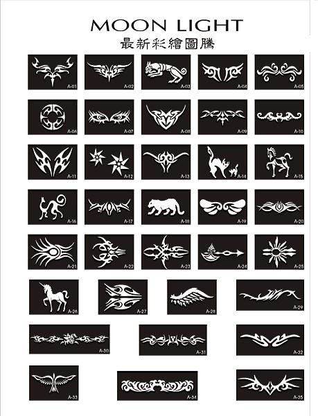 image result for hair tattoo stencil cosmetic accessories rh pinterest com hair tattoo template hair tattoo design pictures