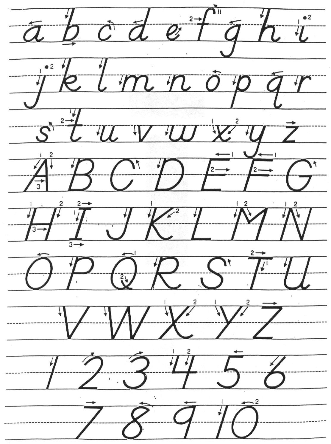 Worksheet Dnealian Cursive 1000 images about phonics on pinterest activities student centered resources and the fun