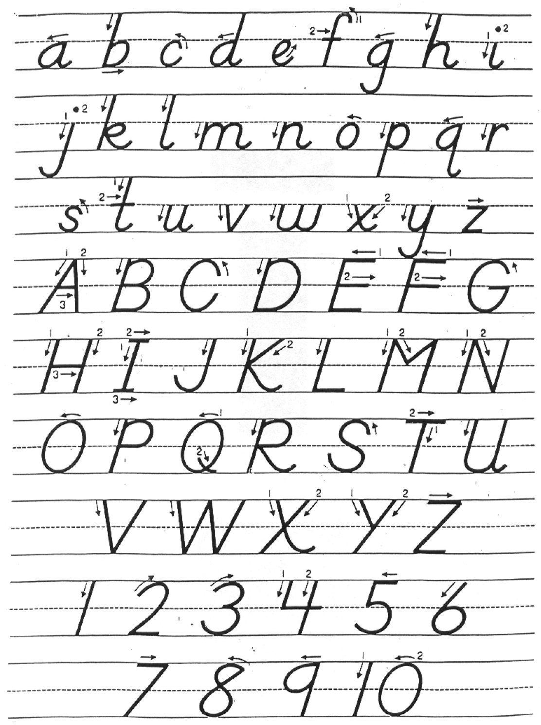 Uncategorized D Nealian Cursive Worksheets dnealian handwriting canyon teaches not block my dnealian