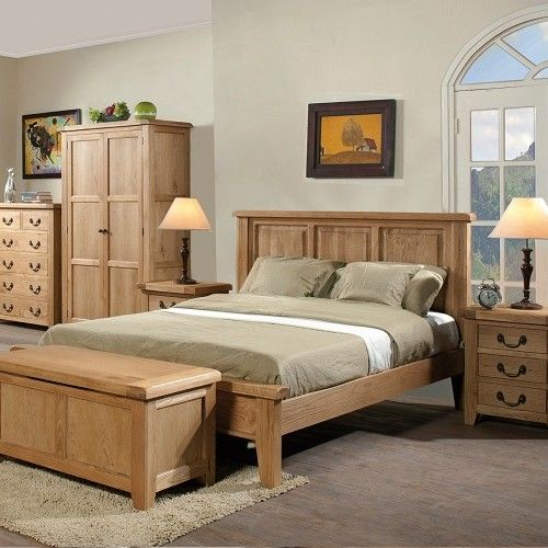 Oak Bedroom Furniture For Added Glory Of Pure Wood Oak Bedroom Furniture Oak Bedroom Wooden Bed Frames
