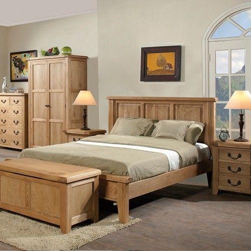 Oak Bedroom Furniture For Added Glory Of Pure Wood Oak Bedroom Furniture Oak Bedroom Wooden Bed Frames