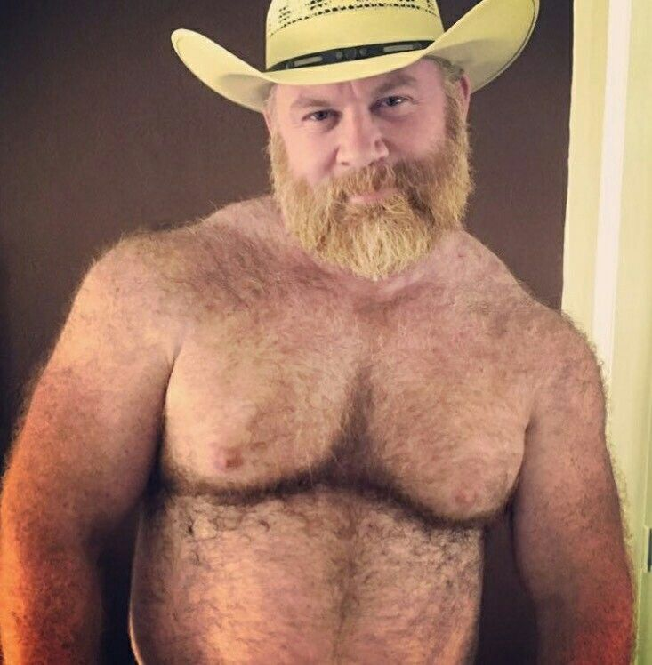 ginger men older Hairy
