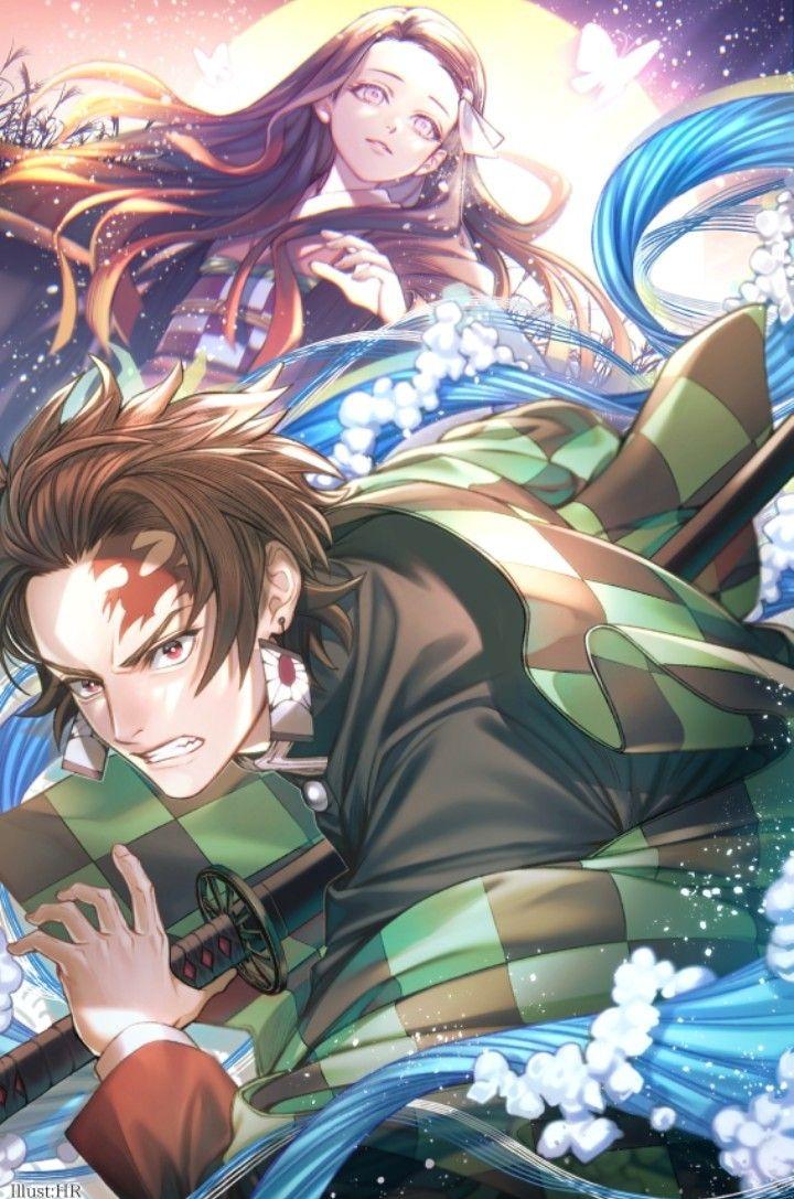 Pin de S T.mandam em Kimetsu No Yaiba Anime, Ilustrações