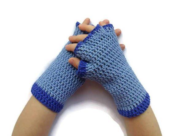 Crochet fingerless gloves mittens Arm Warmers Vampirina Short Girls ...