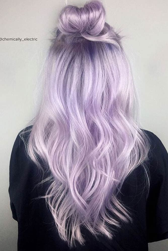 The Beauty Of The Lilac Color In The Real Life