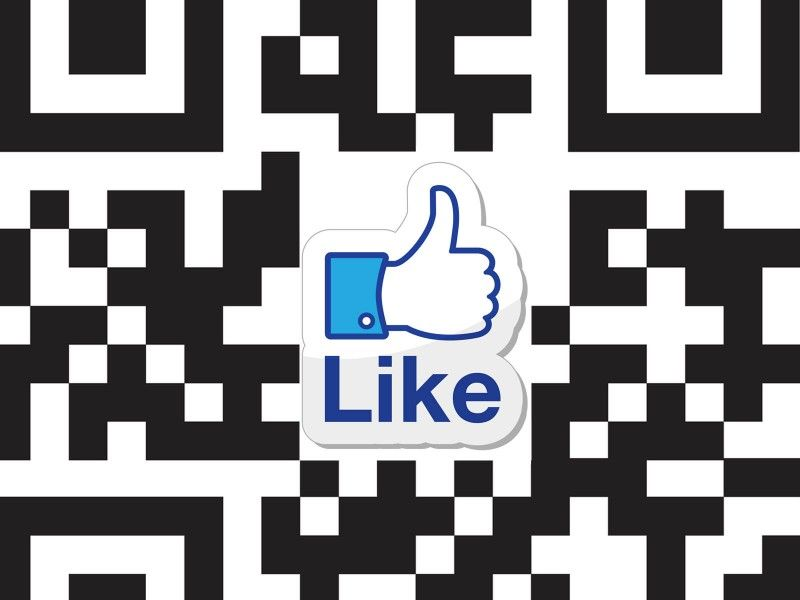 Facebook Jumps Into Profile QR Codes - uQR.me - ARGH! Why won't QR codes just die so the people who said they were dead in 2012 can hold their heads up high again? Just kidding! Facebook is using QR codes #dynamicqrcodes #facebook
