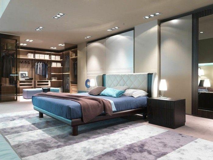 Schlafzimmergestaltung Ideen ~ Schlafzimmer ideen moderne einrichtung mit männlicher ausstrahlung