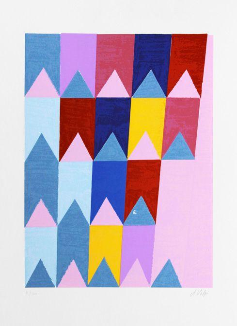 Bandeirinhas Alfredo Volpi 1896 1988 Producao De Arte Design