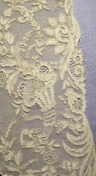 Rosepoint needlelace. For beautiful lace wedding dresses see emmahunt.co.uk
