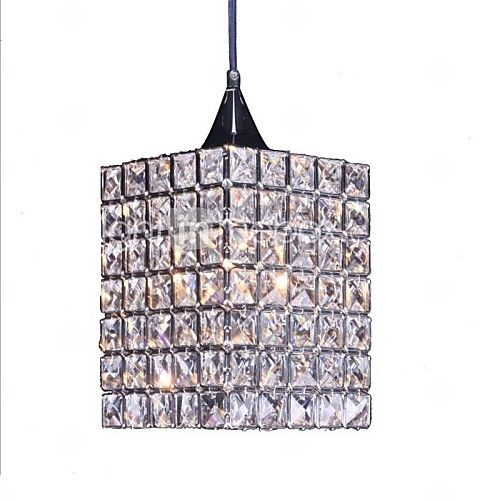 Minimalist  Modernre Staurant Crystal Chandelier  with 1 Light - USD $121.99