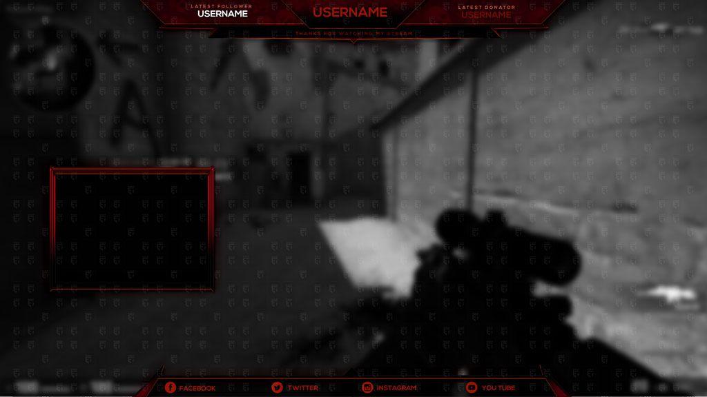 Free Twitch Overlay Counter-Strike: GO Mythic – Esports Templates