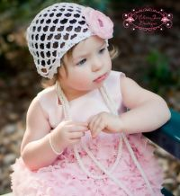 Shabby Chic Ruffled Pink Infant Dress