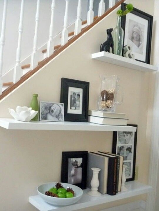 10 Different Ways to Style Floating Shelves Cheap photo frames