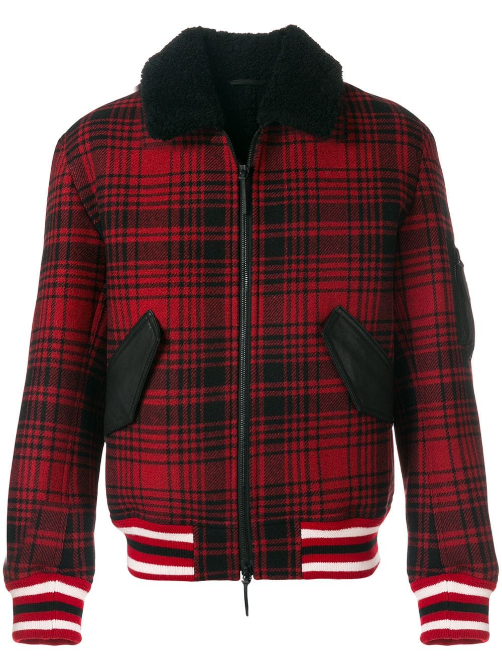 Tommy Hilfiger Checked Bomber Jacket in 2019 | Tommy