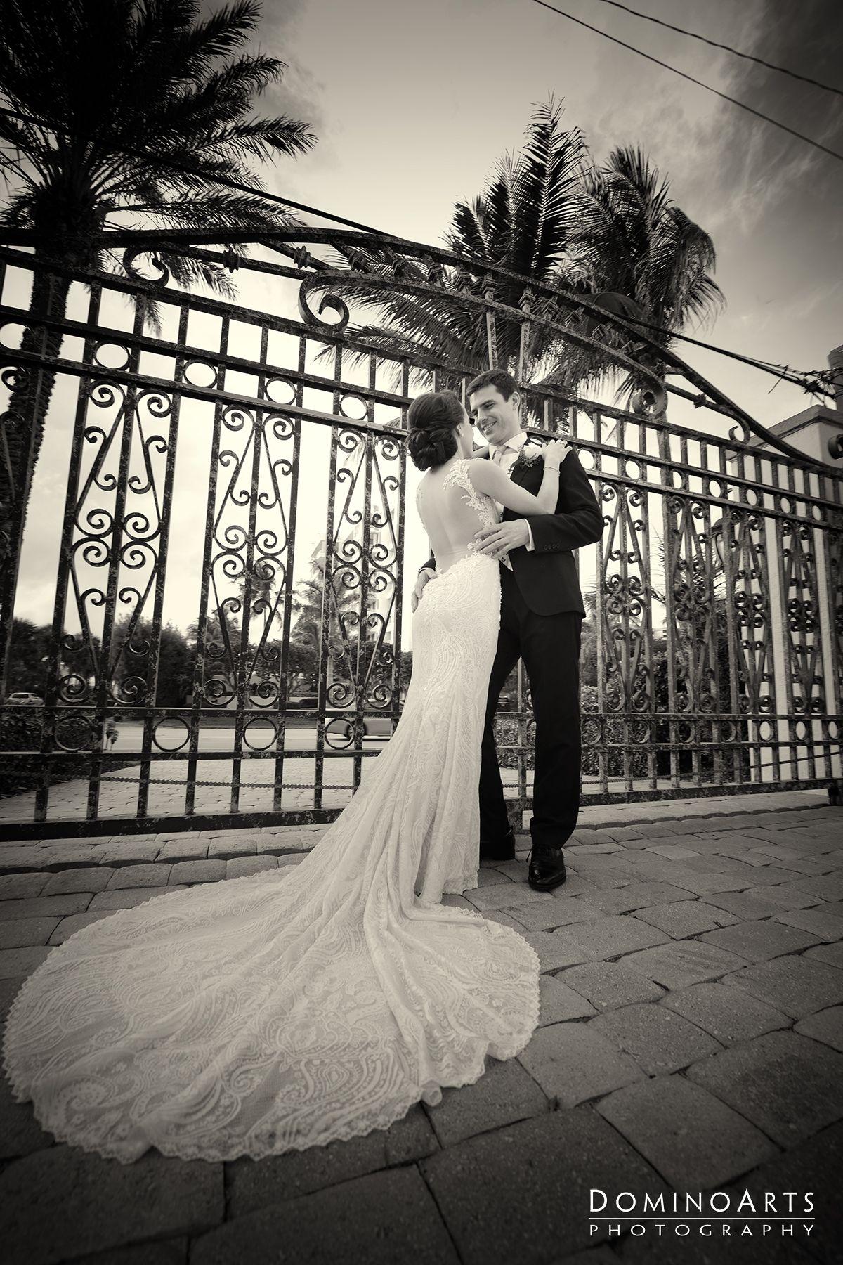 Maya & Jon's #backyardwedding was simply perfect. She looked #stunning on her @galialahav  #wedding #Gown #Photography by #DominoArts. #luxurywedding #weddingphotography #weddingphotographer #ceremony #brideandgroom #photoideas #BocaRatonWedding #weddingday #weddingdecor #beachwedding #portraits #couple #poses #blackandwhitephotography (www.DominoArts.com)