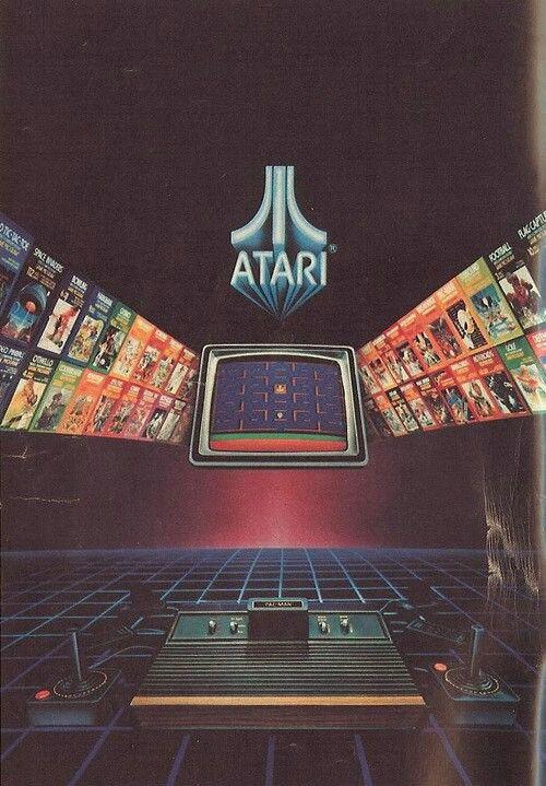 Atari poster | DESIGN | Retro video games, Retro futurism ...