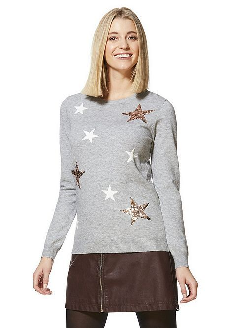 wide selection of colors online pretty cool Tesco direct: F&F Star Sequin Jumper | tops. in 2019 ...