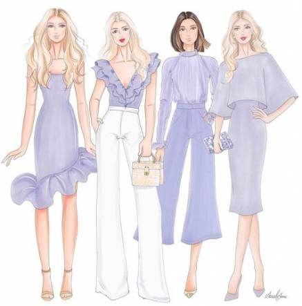Photo of 35 Ideas Fashion Sketches Art Design Illustrations For 2019