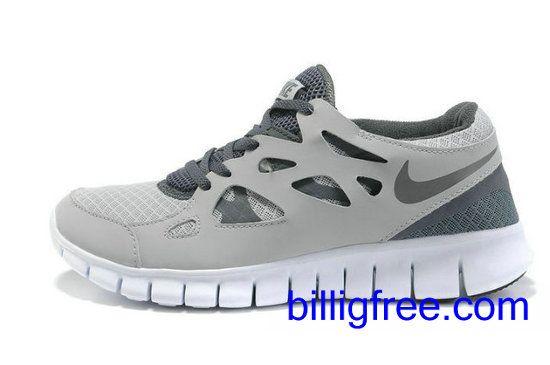 Verkaufen billig Herren Nike Free Run 2 Schuhe (Farbe:vamp, innen, logo-grau; Sohle-weiB) Online in Deutschland.