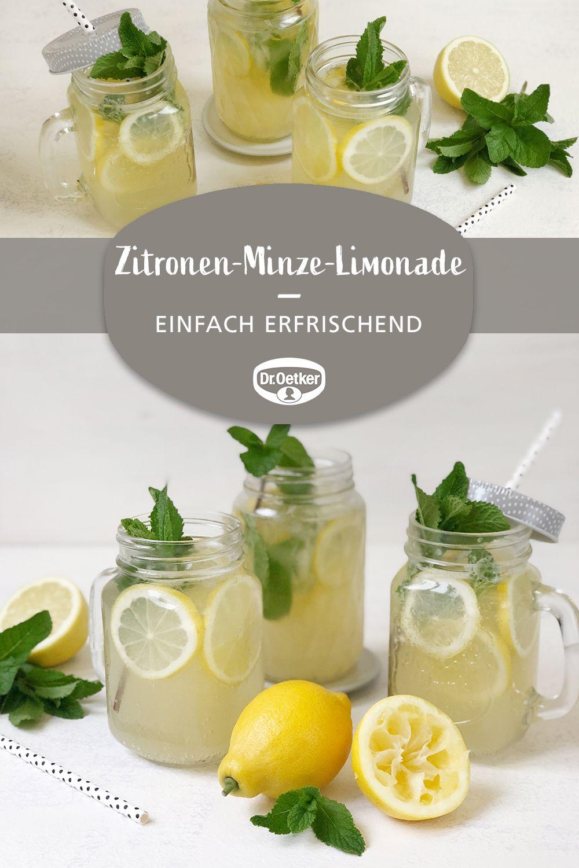 Zitronen-Minze-Limonade #healthystarbucksdrinks