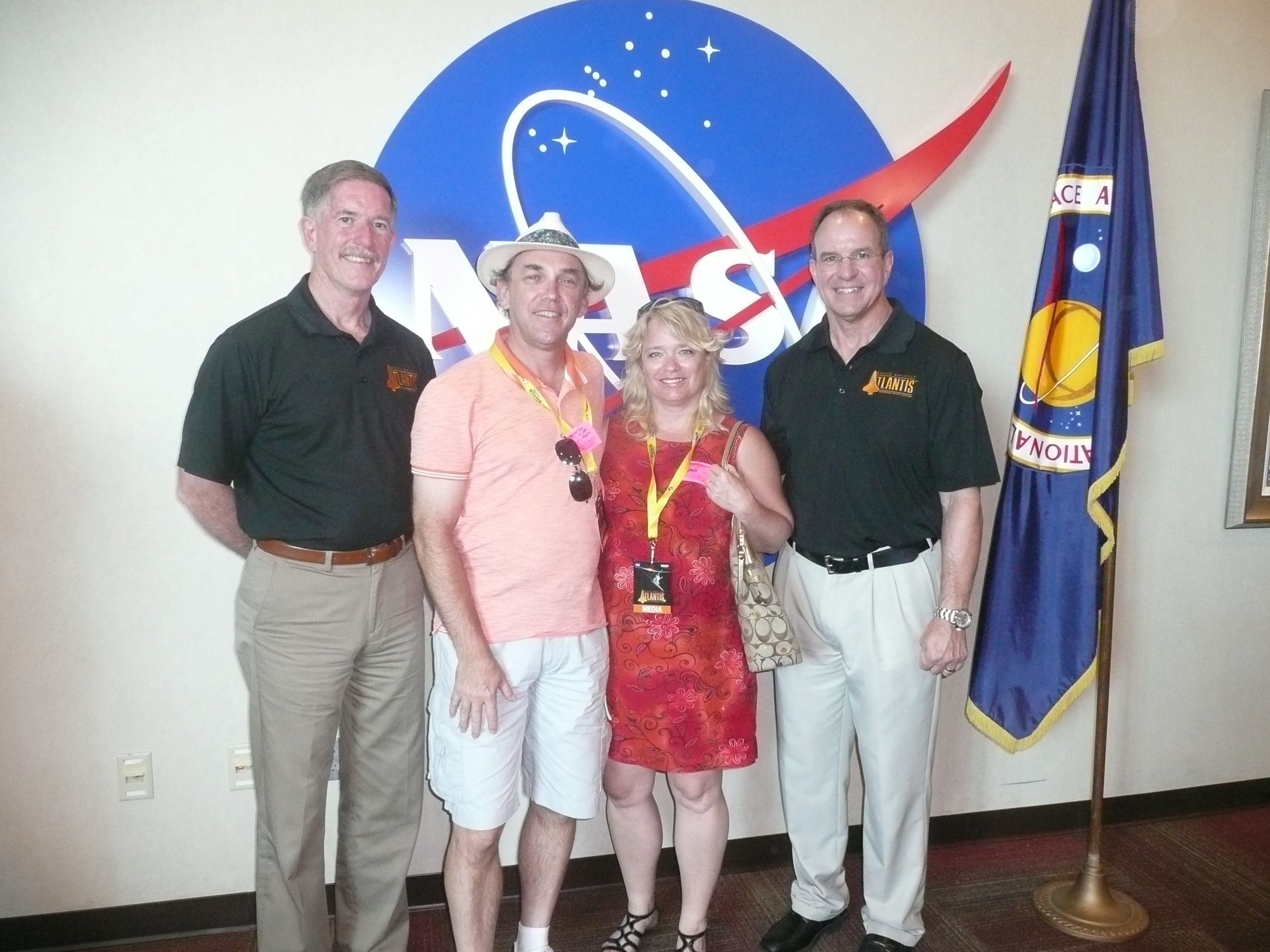 Meeting an astronaut at Kennedy Space center