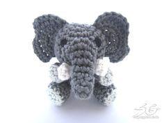 Amigurumi Elefant Anleitung Amigurum