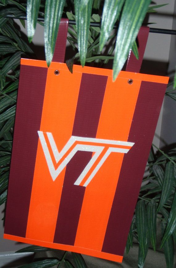Items Similar To Garden Flag   College   Virginia Tech   VT   VPI   Hokies  Flag On Etsy