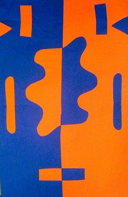 Kids Art Market Collage Complementary Colors Matisse Symmetry Organic V