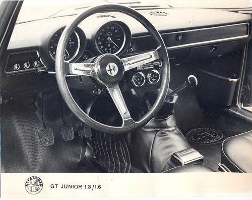 Alfa Romeo GT 105 series; press photo