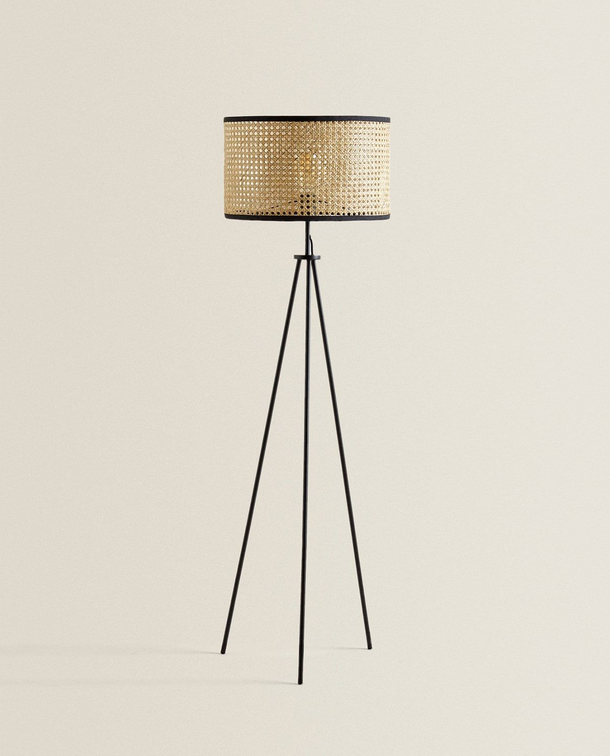 Image 1 Of The Product Rattan Floor Lamp Rattan Floor Lamp