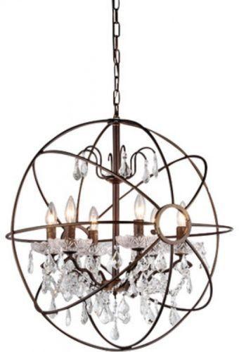 Warehouse Of Tiffany Edwards 6 Light Candle Chandelier
