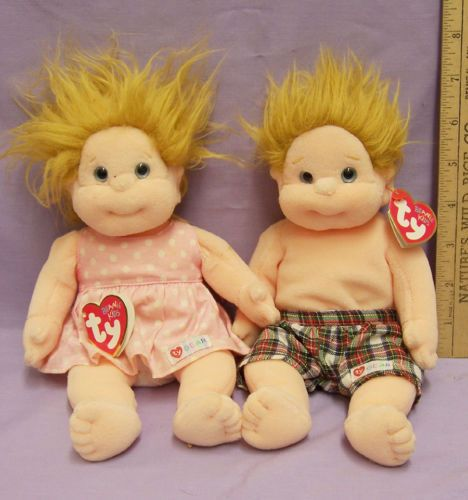 9d31c710679 Ty Beanie Baby Kid Chipper   Precious Retired Lot of 2