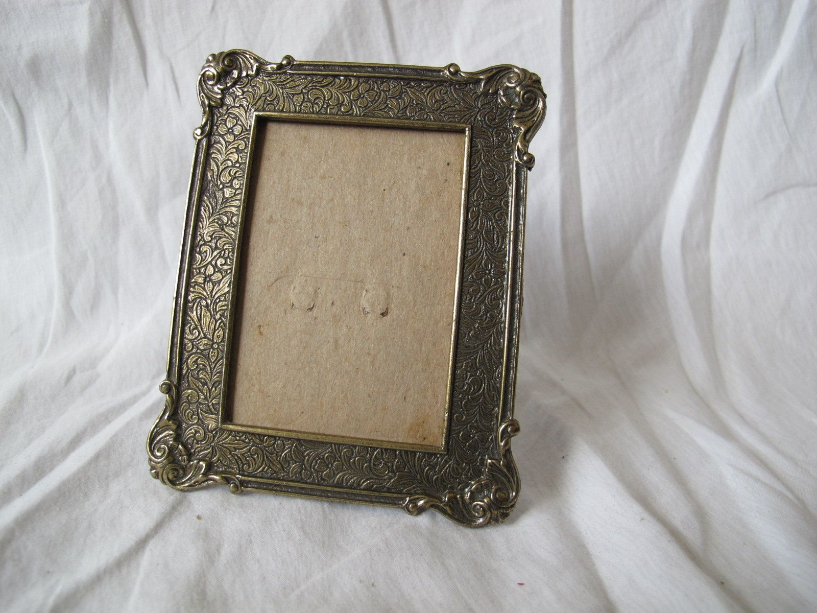 Small Rectangular Floral Frame 3 3 8 By 2 1 2 Inches 1928 Etsy Small Photo Frames Picture Frame Table Frame