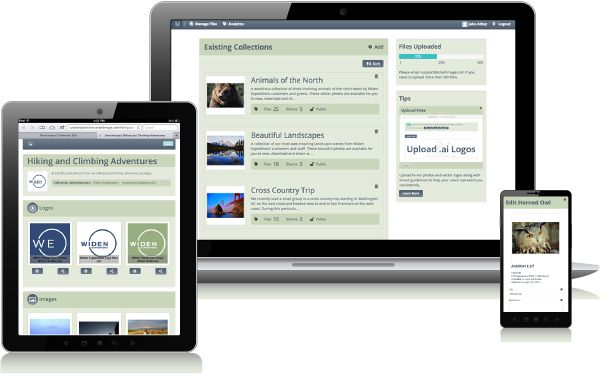 Smartimage is #mobilefriendly -- access your brand files on any device!