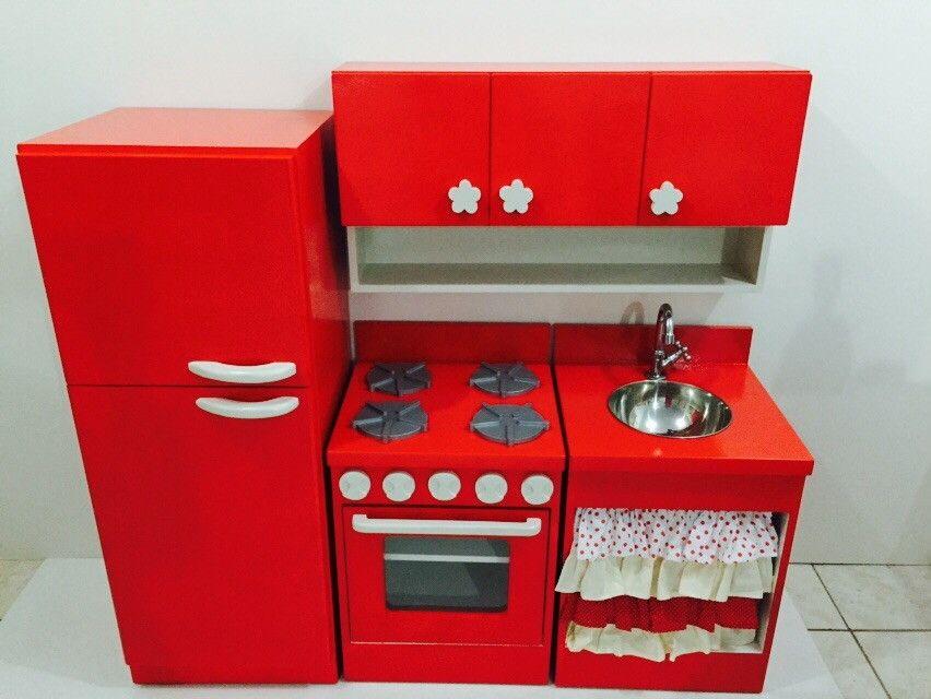 Armario De Geladeira Em Mdf : Cozinha infantil gaby geladeiras e