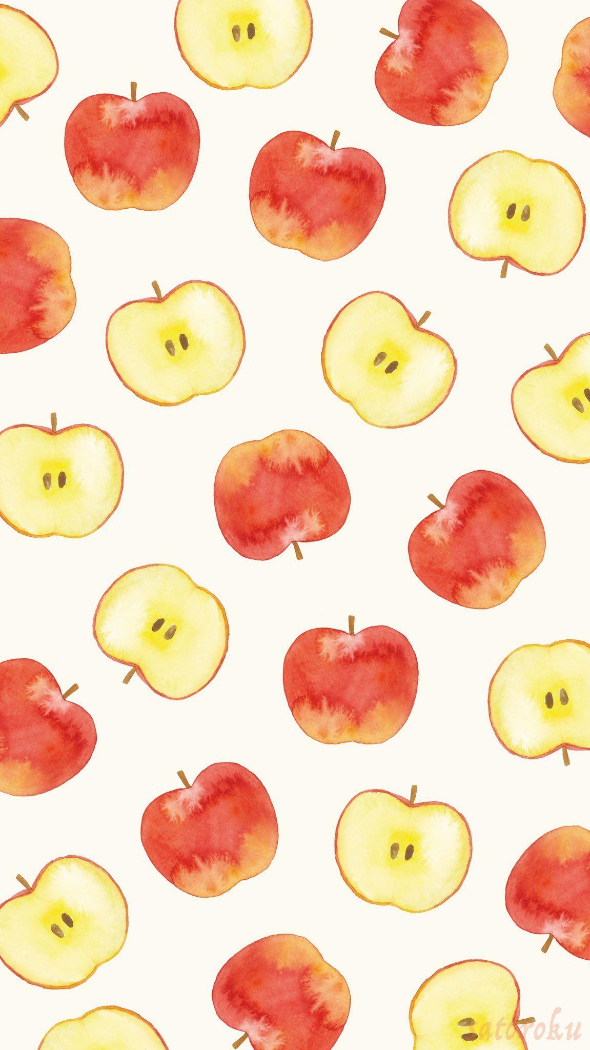 Tvitter フルーツ イラスト 夏 壁紙 果物 イラスト かわいい
