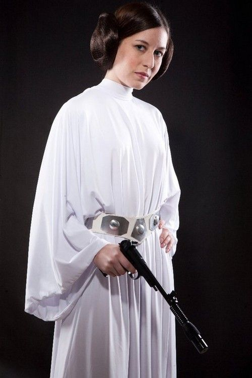 Princess Leia Cosplay Costume