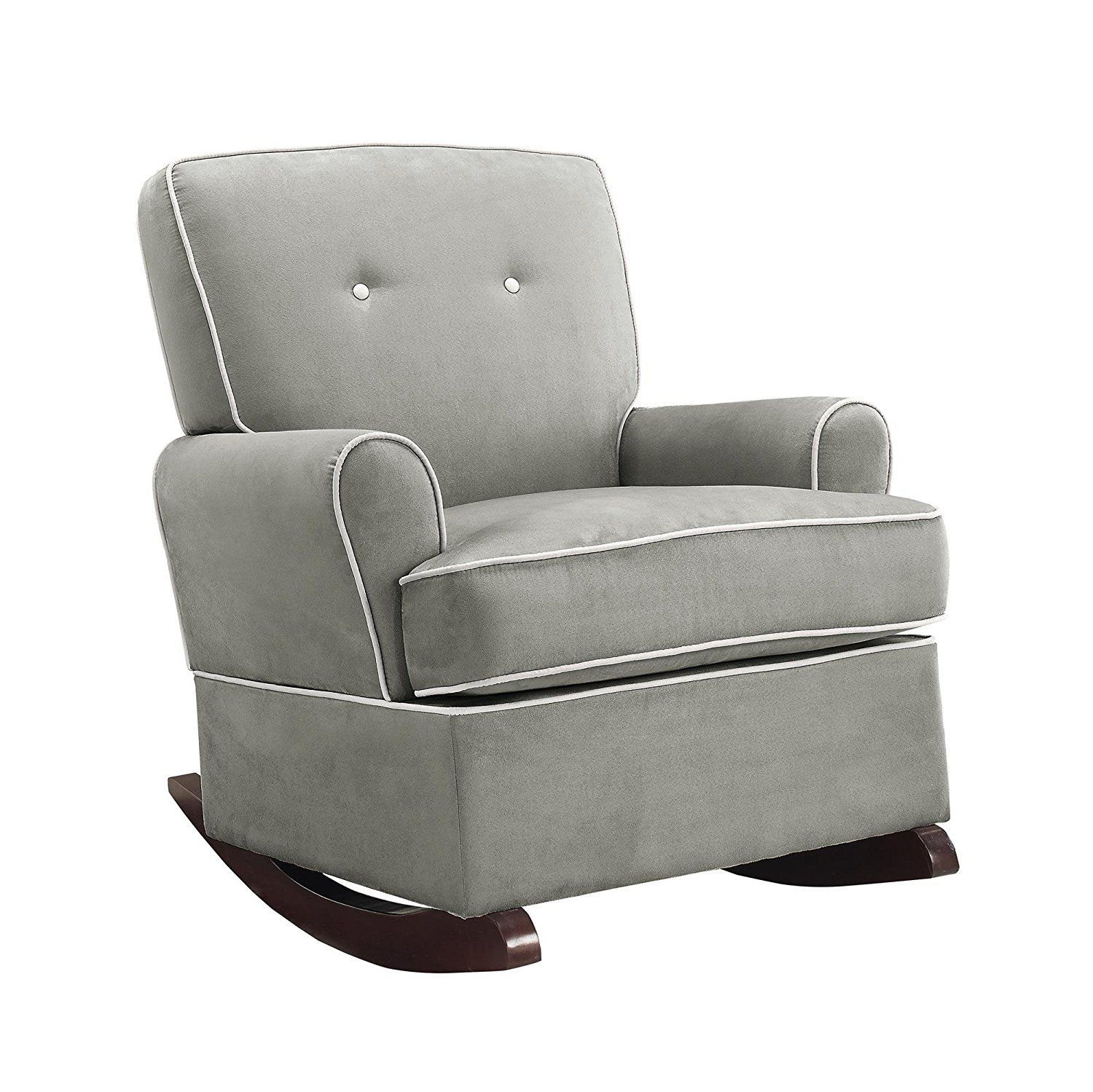 Baby Relax Tinsley Nursery Rocker Chair Gray ** Check out