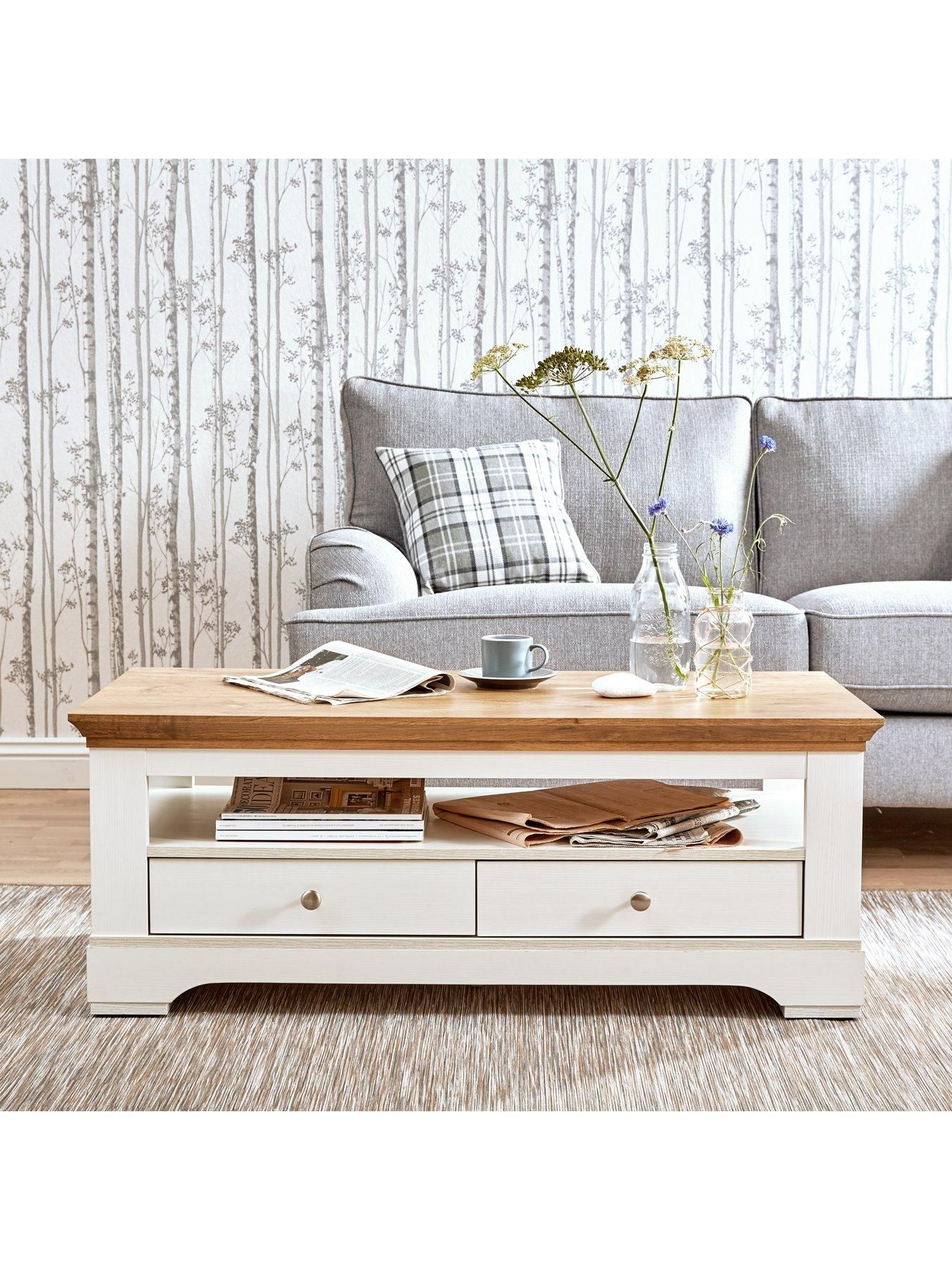 Ideal Home Wiltshire 2 Drawer Coffee Table | Pinterest | Drawers ...