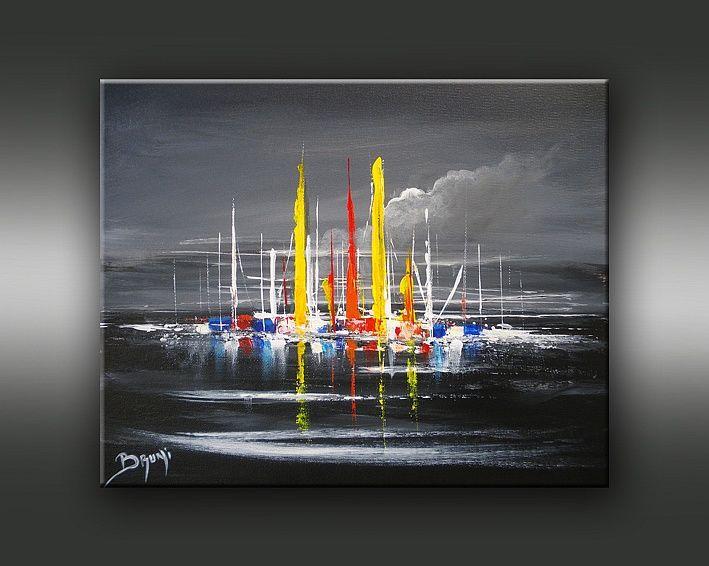 Galerie de l 39 artiste peintre bruni vente de tableaux - Tableau peinture blanc ...