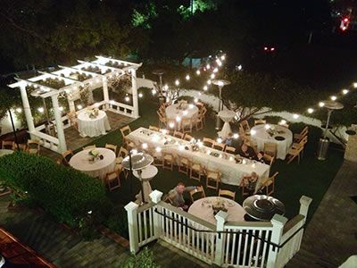 The Perry House Wedding Venue In Monterey Ca 93940 Small Wedding Receptions Small Backyard Wedding Wedding Backyard Reception