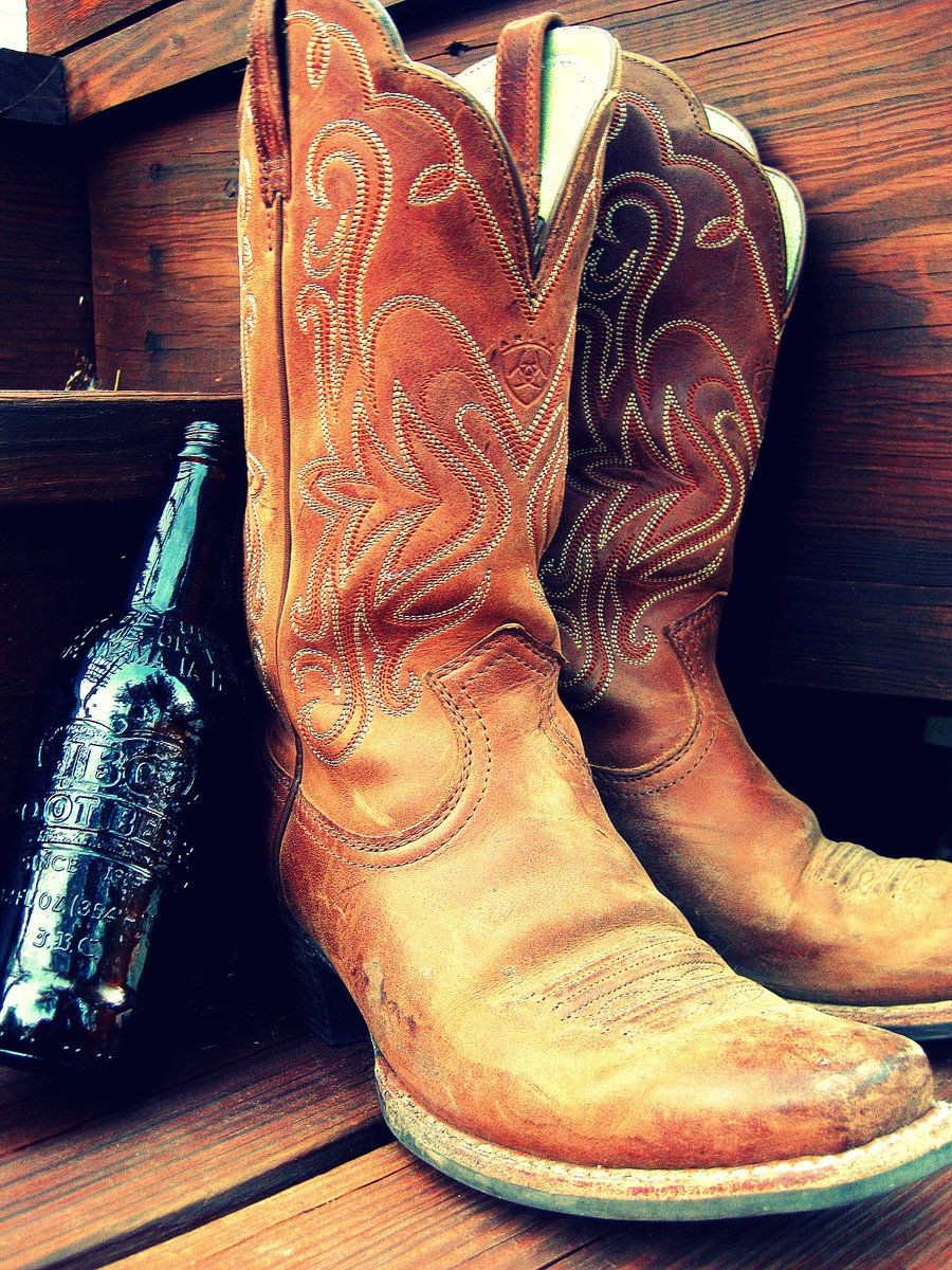 Cowboy Boots Photography | Cowboy Boots in the Summer by
