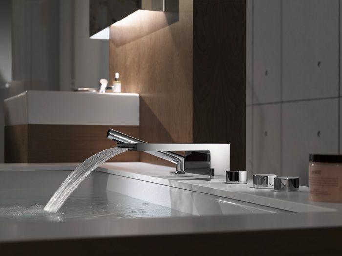 the faucet Luxury bathroom faucets, Bathroom design