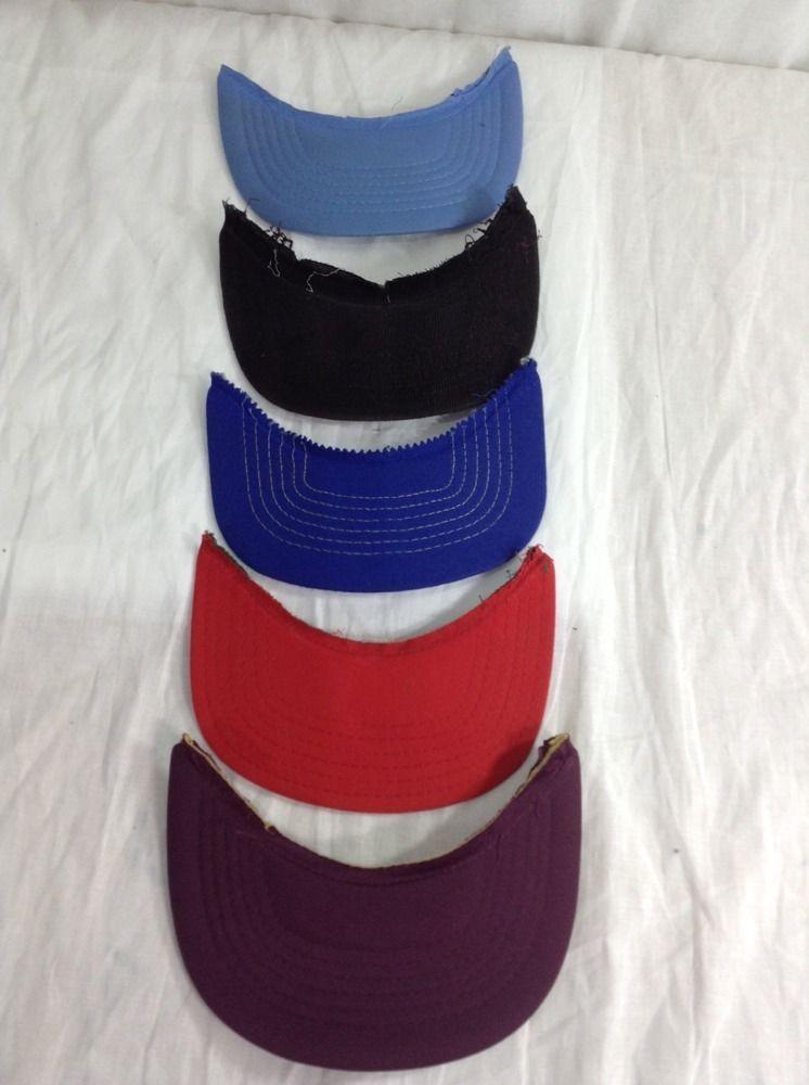 Snapback Hat Cap Brim Bill S Visor Lot Of 5 For Repair Restoration Customize Various Baseballcap Hats Snapback Hats Trucker Cap