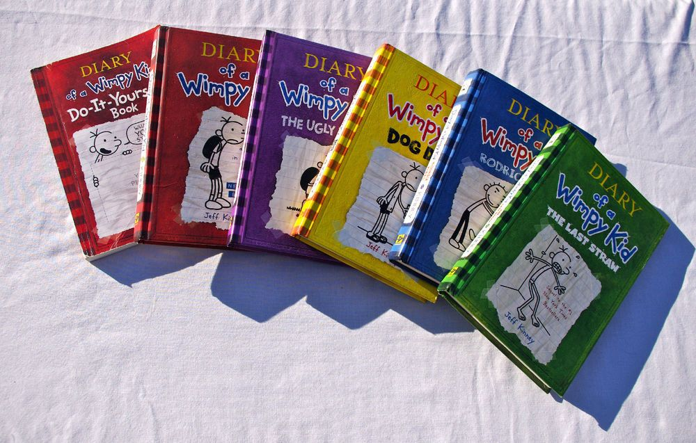 6 diary of a wimpy kid books hardcover do it yourself jeff kinney 1 6 diary of a wimpy kid books hardcover do it yourself jeff kinney 1 2 3 solutioingenieria Image collections