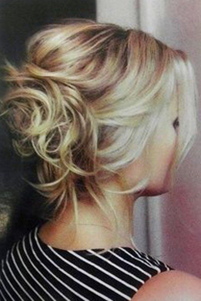 Coiffure mariage cheveux milongs chignon Mariage