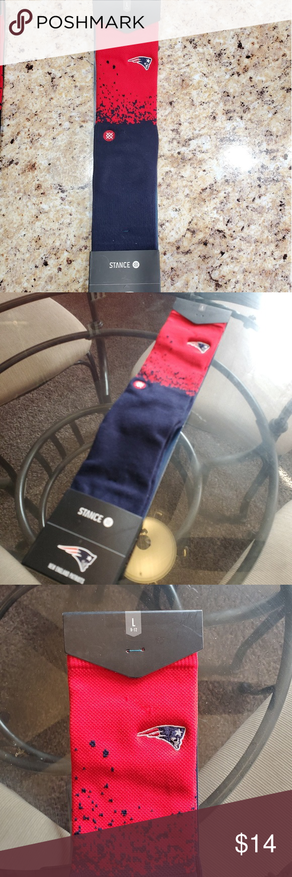 Nfl New England Patriots Stance Socks These Are A Brand New Still In Packaging Nfl New England Patri Stance Socks Nfl New England Patriots New England Patriots