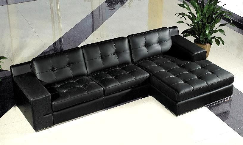 In Grey Modern Sofa Sectional L Shaped Leather Sofa Sectional Sofas Living Room