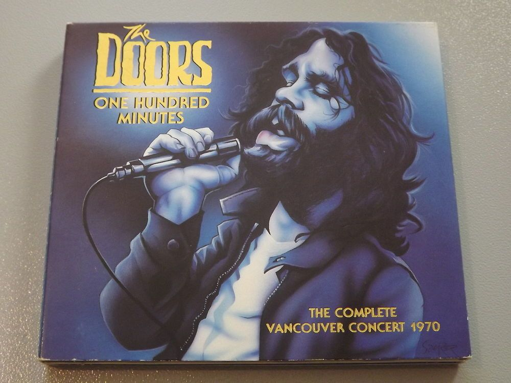 The Doors highly sought after 100 Minutes 2 CD Vancouver release #thedoors # : cds doors - Pezcame.Com